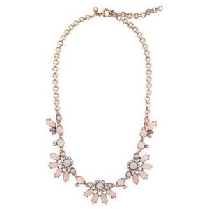 JCrew Translucent Flower Necklace